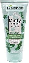 Düfte, Parfümerie und Kosmetik Erfrischende und glättende Fußcreme Antitranspirant - Bielenda Minty Fresh Foot Care Antiperspirant Refreshing & Smoothing Cream