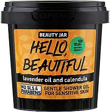 """Düfte, Parfümerie und Kosmetik Duschgel für empfindliche Haut """"Hello, Beautiful"""" - Beauty Jar Gentle Shower Gel"""
