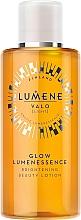 Düfte, Parfümerie und Kosmetik Aufhellende Gesichtslotion mit Hyaluronsäure und Birkensaft - Lumene Valo Glow Lumenessence Lotion