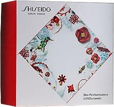 Düfte, Parfümerie und Kosmetik Set - Shiseido Bio Performance LiftDynamic Holiday Kit (Gesichtscreme/50ml + Reinigungsschaum/15ml + Gesichtslotion/30ml + Konzentrat/5ml)
