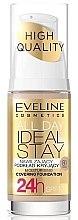 Düfte, Parfümerie und Kosmetik Cremige Foundation - Eveline Cosmetics All Day Ideal Stay Foundation