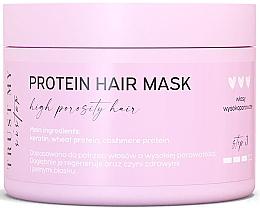 Düfte, Parfümerie und Kosmetik Haarmaske mit Keratin und Proteinen für hochporöses Haar - Trust My Sister High Porosity Hair Protein Mask
