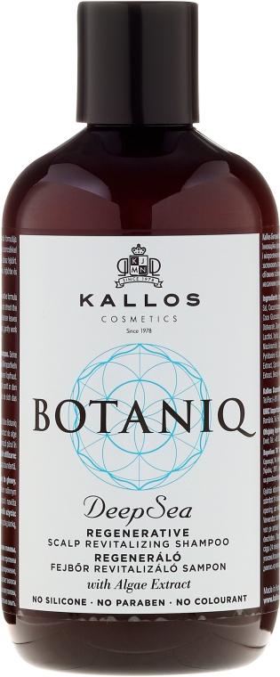 Regeneratives, Kopfhaut revitalisierendes Shampoo - Kallos Cosmetics Botaniq Deep Sea Shampoo