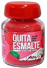 Düfte, Parfümerie und Kosmetik Express-Nagellackentferner mit Schwamm und Erdbeerduft - Katai Nails Express Nail Polish Remover Strawberry