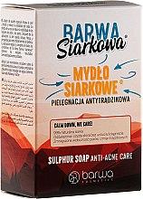 Düfte, Parfümerie und Kosmetik Schwefelseife gegen Akne - Barwa Anti-Acne Sulfuric Soap