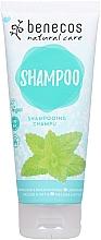 Düfte, Parfümerie und Kosmetik Shampoo mit Brennnessel - Benecos Natural Care Shampoo Melissa & Nettle