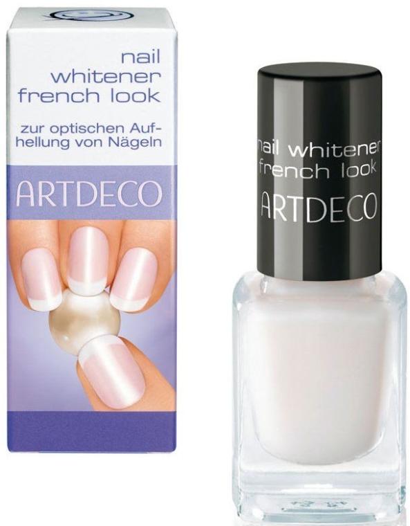Nagellack zur optischen Aufhellung von Nageln - Artdeco Nail Whitener French Look — Bild N1