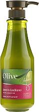 Düfte, Parfümerie und Kosmetik Conditioner mit Olivenöl für trockenes und geschädigtes Haar - Frulatte Protecting Olive Leave In Conditioner