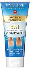 Düfte, Parfümerie und Kosmetik 8in1 Fußcreme für rissige Fersen - Eveline Cosmetics Foot Therapy Professional
