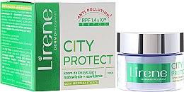 Düfte, Parfümerie und Kosmetik Gesichtscreme mit Detox-Effekt - Lirene City Protect Cream