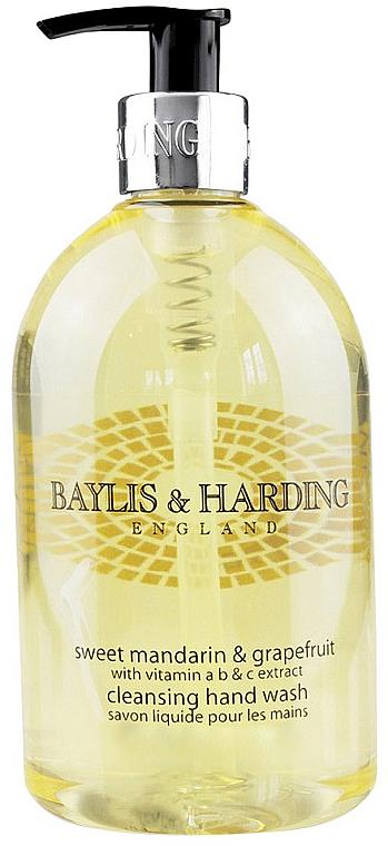 "Flüssige Handseife ""Schöllkraut"" - Baylis & Harding Sweet Mandarin & Grapefruit Hand Wash"