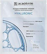 Düfte, Parfümerie und Kosmetik Intensive feuchtigkeitsspendende Gesichtsmaske mit Hyaluronsäure - Academie Hydratant Intensif Masque