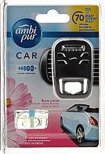 Düfte, Parfümerie und Kosmetik Auto-Lufterfrischer-Set Blumen und Brise - Ambi Pur Car Air Freshener For Her (Aroma-Diffusor 1 St. + Refill 7ml)