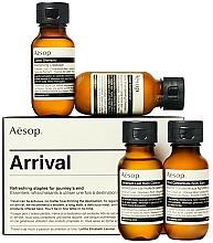 Düfte, Parfümerie und Kosmetik Körperpflegeset - Aesop Arrival Travel Kit (Shampoo 50ml + Conditioner 50ml + Duschgel 50ml + Körperbalsam 50ml)