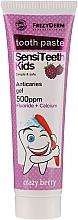 Düfte, Parfümerie und Kosmetik Anti-Karies Kinderzahnpasta mit Heidelbeergeschmack - Frezyderm SensiTeeth Kids Tooth Paste 500ppm