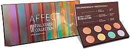 Düfte, Parfümerie und Kosmetik Gesichtsconcealer-Palette - Affect Cosmetics Full Cover Collection