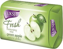 Düfte, Parfümerie und Kosmetik Feuchtigkeitsspendende Seife mit grünem Apfel - Luksja Fresh Green Apple Moisturizing Soap