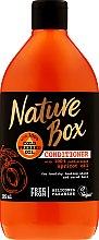 Düfte, Parfümerie und Kosmetik Haarspülung mit kaltgepresstem Aprikosenöl - Nature Box Apricot Oil Conditioner