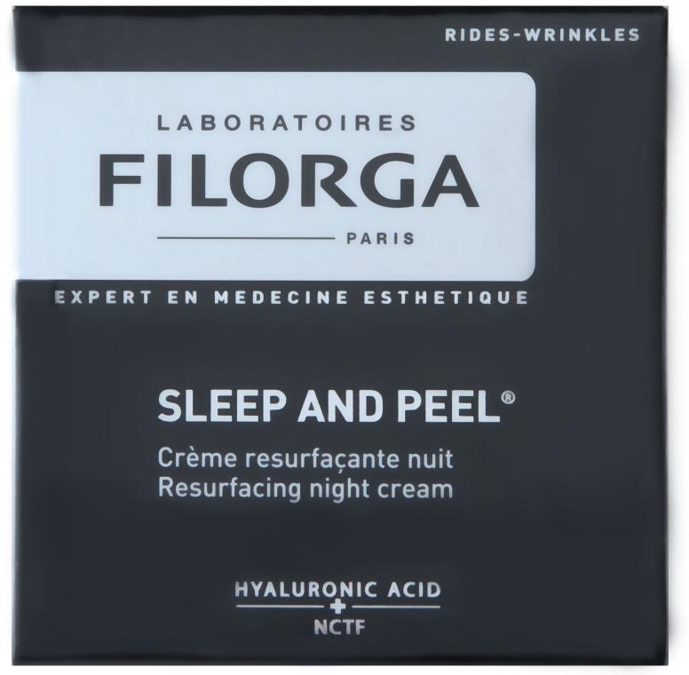 Regenerierende Nachtcreme mit Hyaluronsäure - Filorga sleep and peel — Bild N1