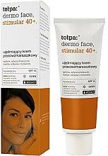 Düfte, Parfümerie und Kosmetik Festigende und straffende Anti-Falten Gesichtscreme 40+ SPF 15 - Tolpa Dermo Face Stimular 40+ Cream SPF15