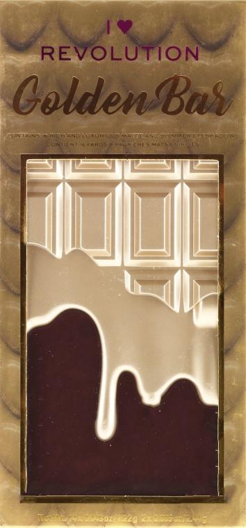 Lidschattenpalette - I Heart Revolution Chocolate Eyeshadow Palette