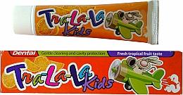 Düfte, Parfümerie und Kosmetik Kinderzahnpasta Tropical Fruit - Dental Tra-La-La Kids Tropical Fruit Toothpaste
