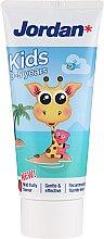 Düfte, Parfümerie und Kosmetik Kinder-Zahnpasta Giraffe 0-5 Jahre - Jordan Kids Toothpaste