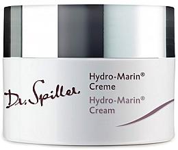 Düfte, Parfümerie und Kosmetik Feuchtigkeitsspendende Anti-Aging Detox-Gesichtscreme mit Meeresalgen, Meersalz-Konzentrat, Squalan und Vitamin E - Dr. Spiller Hydro-Marin Cream