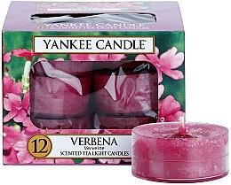 Düfte, Parfümerie und Kosmetik Teelichte - Yankee Candle Scented Tea Light Candles Verbena