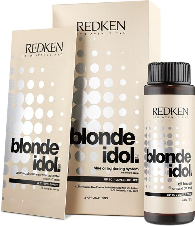 Haaraufhellungs-Set - Redken Blonde Idol Blue Oil Lightening Systems