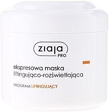 Düfte, Parfümerie und Kosmetik Lifting-Gesichtsmaske mit Algenextrakt und Hyaluronsäure - Ziaja Pro Lifting Express Mask