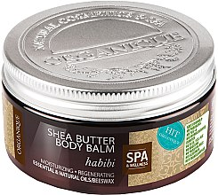 Düfte, Parfümerie und Kosmetik Feuchtigkeitsspendender und regenerierender Körperbalsam - Organique Shea Butter Body Balm Habibi