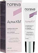Düfte, Parfümerie und Kosmetik Korrigierende Anti-Falten Augenkonturcreme - Noreva Laboratoires Alpha KM Eye Contour