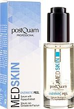 Düfte, Parfümerie und Kosmetik Enzym-Peelingserum für das Gesicht mit Papaya-Extrakt - PostQuam Med Skin Enzimatic Peel Serum With Papaya Extract