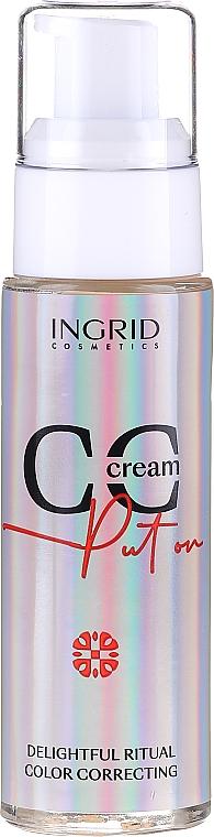 CC Creme für das Gesicht - Ingrid Cosmetics CC Cream Put On Delightful Ritual Color Correcting
