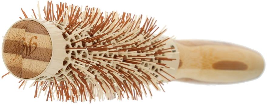 Klimafreundliche runde Bambusbürste d.23 - Olivia Garden Healthy Hair Eco-Friendly Bamboo Brush — Bild N2