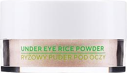 Düfte, Parfümerie und Kosmetik Loser Reispuder für die Augenpartie - Ecocera Under Eye Rice Powder