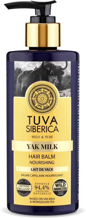 Pflegende Haarspülung - Natura Siberica Tuva Siberica Yak Milk Nourishing Bio-Conditioner