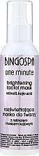Düfte, Parfümerie und Kosmetik Aufhellende Maske für Gesicht, Hals und Dekolleté - BingoSpa Brightening Mask