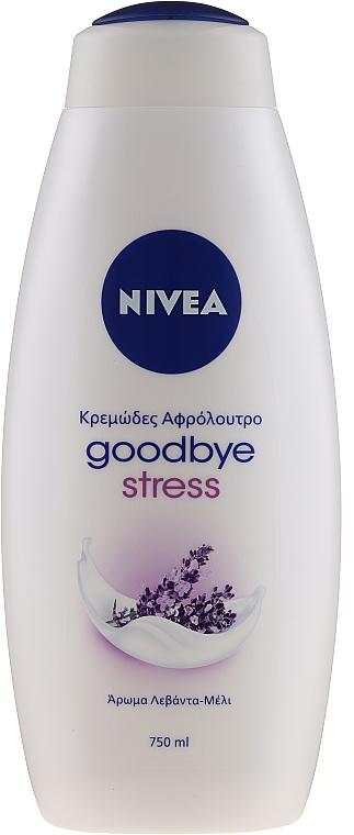 Pflegendes Duschgel mit Lavendelhonig-Duft - Nivea Goodbye Stress Body Wash — Bild N1