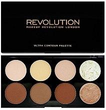 Düfte, Parfümerie und Kosmetik Highlighter Gesichtspalette - Makeup Revolution Ultra Contour Palette