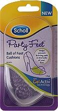 Geleinlagen gegen Rutschen und Druckschmerz - Scholl Party Feet Ultra Slim Invisible Gel Cushions — Bild N1