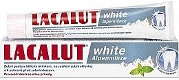 Düfte, Parfümerie und Kosmetik Zahnpasta mit Minzgeschmack - Lacalut White Alpenminze Toothpaste