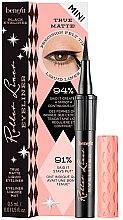 Düfte, Parfümerie und Kosmetik Matter Eyeliner - Benefit Roller Liner Mini
