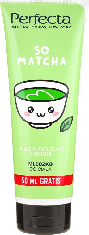 Feuchtigkeitsspendende Körpermilch mit Matcha-Tee - Perfecta Body Milk So Matcha