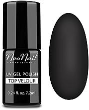 Düfte, Parfümerie und Kosmetik UV Überlack mit Matt-Effekt - NeoNail Professional Top Matte Velour Uv Gel Polish