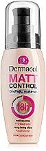 Düfte, Parfümerie und Kosmetik Wasserfeste mattierende Foundation - Dermacol Matt Control