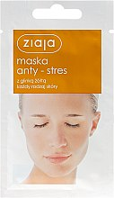 Düfte, Parfümerie und Kosmetik Anti-Stress-Maske mit gelbem Ton - Ziaja Face Mask