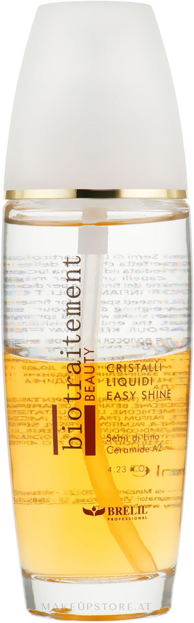 Zweiphasige Flüssigkristalle mit Ceramiden - Brelil Bio Traitement Beauty Cristalli Liquidi Easy Shine — Bild 125 ml