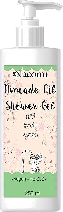 Duschgel mit Avocadoöl - Nacomi Natural With Avocado Oil Shower Gel — Bild N1